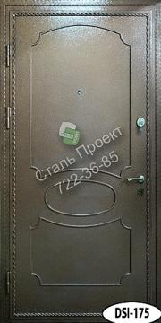 двери входные с ковкой и стеклом с порошковым напылением