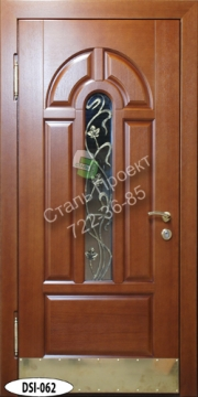 входные двери со стеклом недорогие