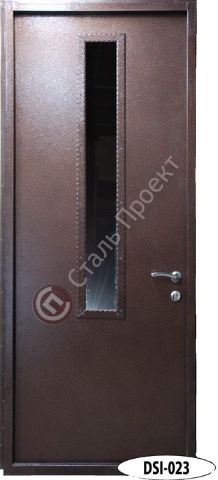 Стальная дверь со стеклом - 6