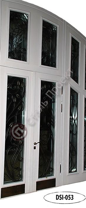 Стальная дверь со стеклом - 7