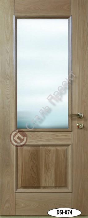 Стальная дверь со стеклом - 10