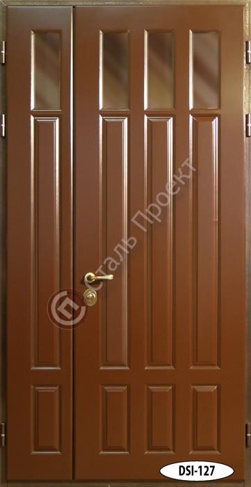 Стальная дверь со стеклом - 12