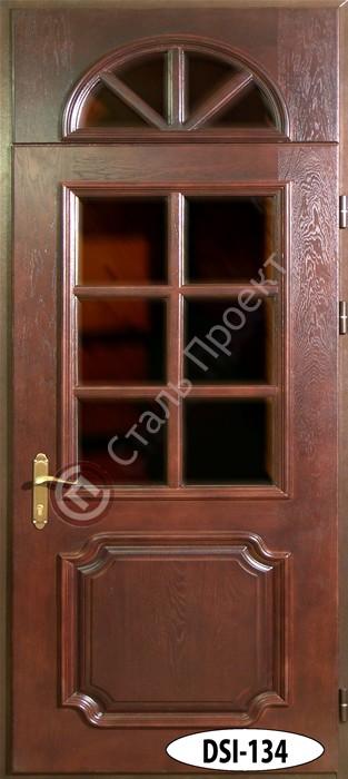 Стальная дверь со стеклом - 13