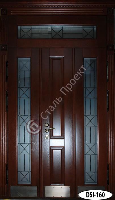 Стальная дверь со стеклом - 14