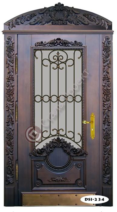 ковка двери входные арочная