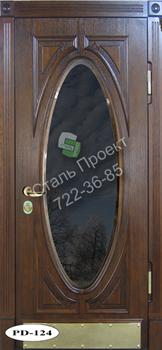 Стальная дверь со стеклом - 3