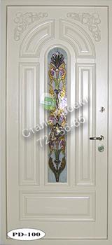 Стальная дверь со стеклом - 4
