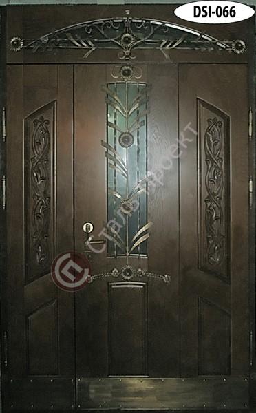 Стальная дверь со стеклом - 5